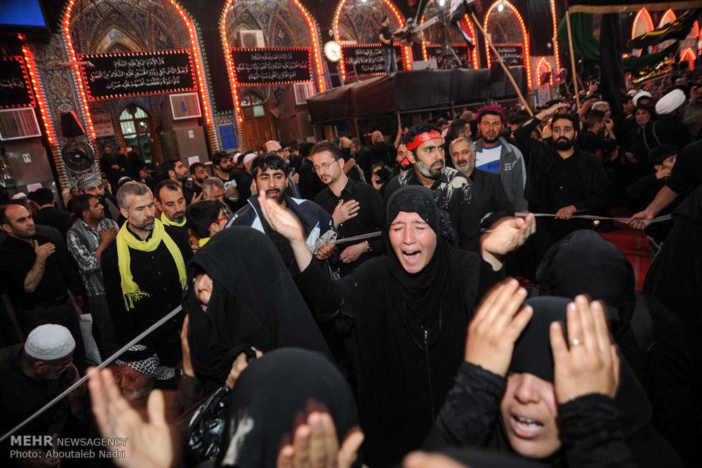 حال و هوای کربلای معلی در ایام اربعین حسینی /راهپیمایی اربعین ۵۲