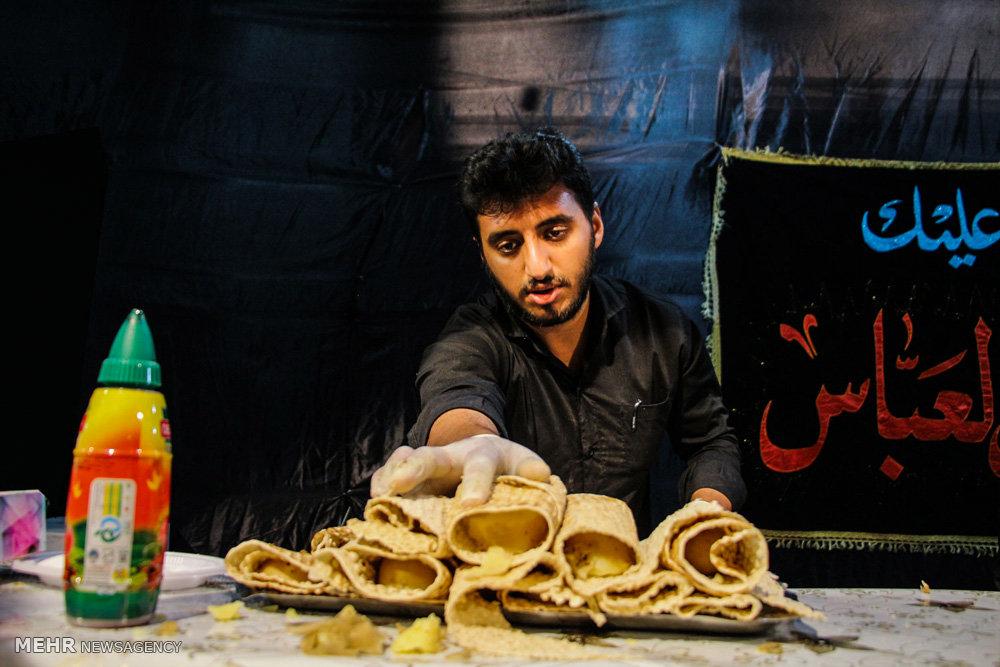 مراسم عزاداری اربعین حسینی در لارستان