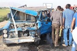 ۳ فوتی و ۷ مصدوم در تصادفات جاده ای آذربایجان شرقی