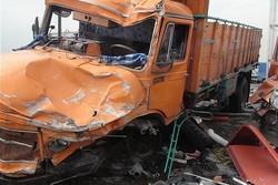کراپشده - تصادف حادثه سانحه کامیون