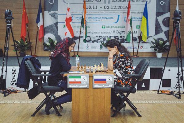 الايرانية خادم الشريعة تتجه نحو نهائيات بطولة العالم للشطرنج