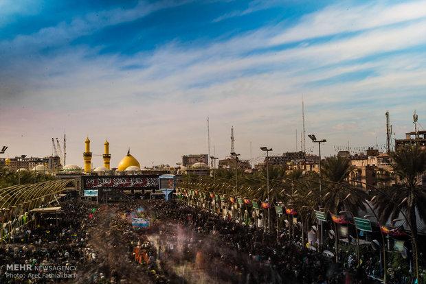 ۲۵ هزار زائر حسینی ازاستان قزوین درمراسم اربعین امسال شرکت کردند,