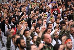 اجتماع بزرگ بسیجیان در کرمان برگزار شد
