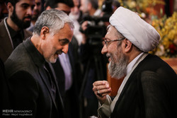 Amoli Larijani attends Judiciary Basij meeting