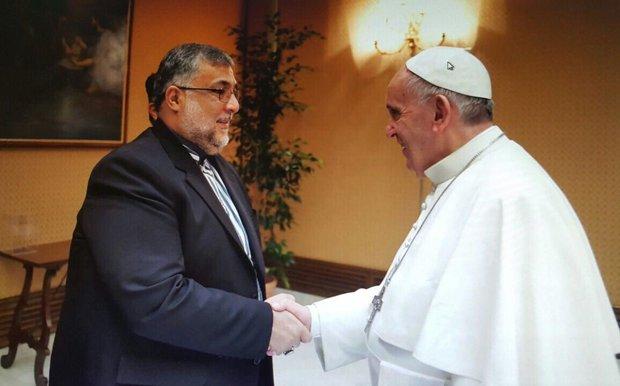 ابراهیمی ترکمان با پاپ در واتیکان دیدار کرد