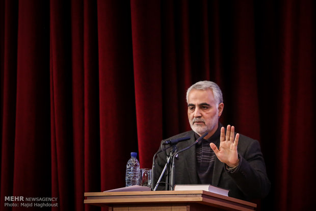 اللواء قاسم سليماني: عدم حضور ظريف في لقاء الأسد لم يكن متعمداً