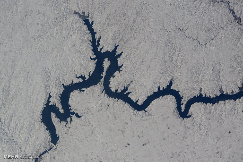 سیاره ما از نمای بالا