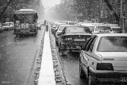 İran'da kar yağışı başladı