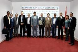 وفد أكاديمي إيراني يزور الجامعة اللبنانية الكندية