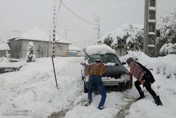 شاقولی به نام برف!