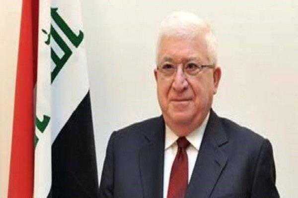 الرئيس العراقي يعزي برحيل آية الله هاشمي رفسنجاني