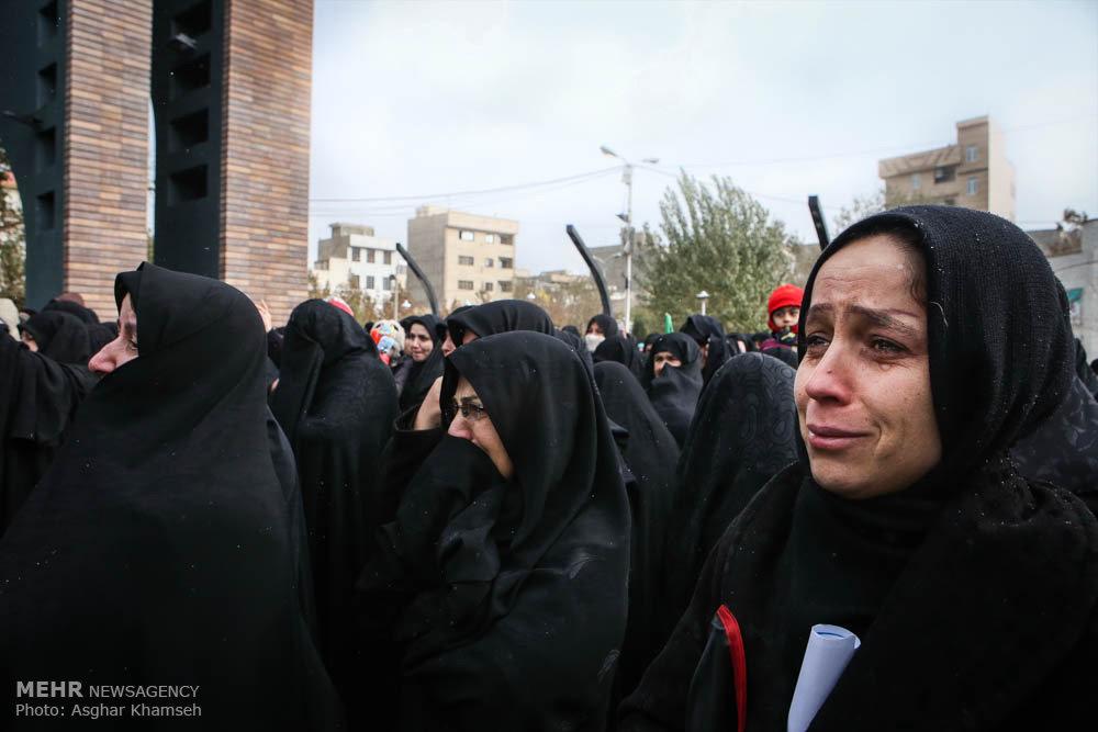 تشییع پیکر شهید مدافع حرم یدالله قاسم زاده