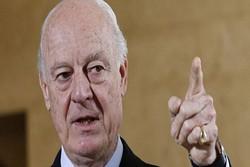 المیادین: دی میستورا طرح جدیدی درباره آینده سوریه ارائه داد
