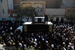تشييع جثمان آية الله موسوي اردبيلي في قم /صور