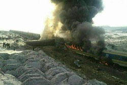 Two trains collide in Semnan, dozens killed, injured