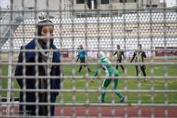 دیدار تیم های فوتبال بانوان قشقایی شیراز و شهرداری سیرجان