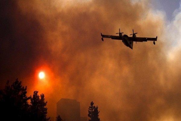استمرار الحرائق الواسعة في الاراضي الفلسطينية المحتلة