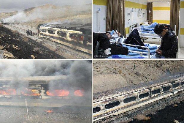 جمعة حزينة على ايران و44 ضحية على السكة الحديدية في سمنان