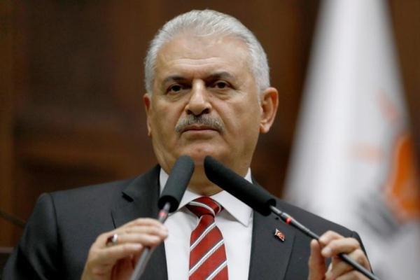 اخبار السياسه رئيس الوزراء التركي يعلن أن معركة الرقة بدأت