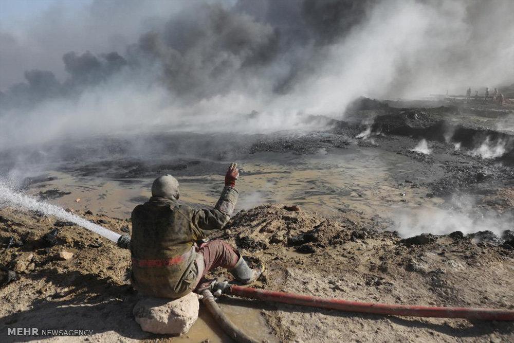 چاه های نفت موصل