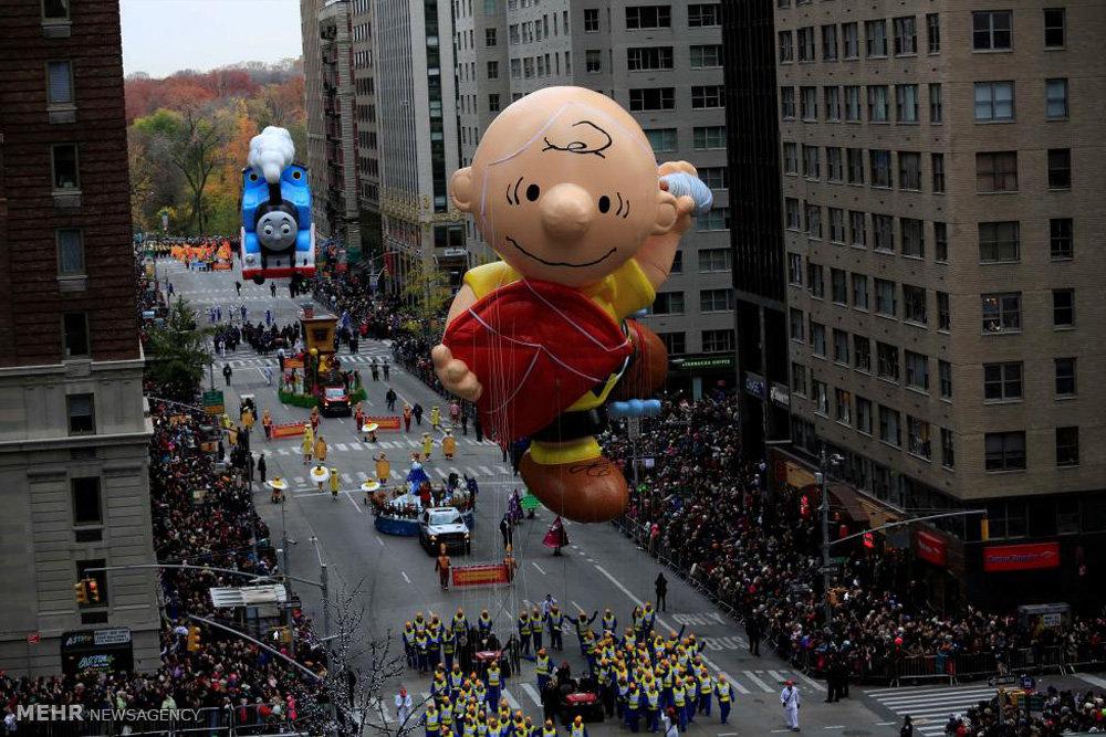 رژه جشن شکرگزاری در نیویورک