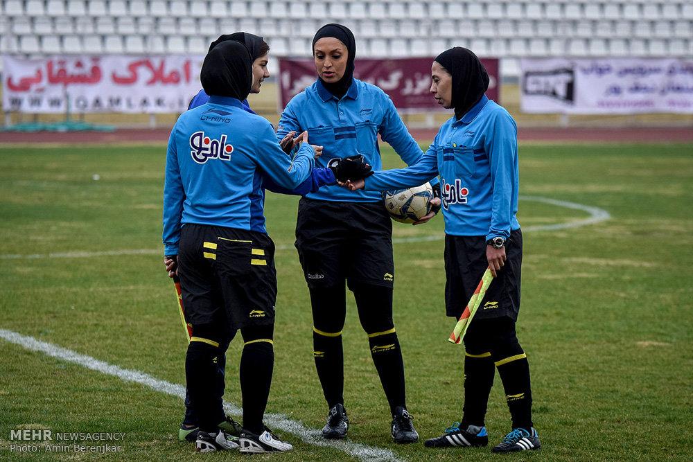 فوتبال بانوان قشقایی شیراز و شهرداری سیرجان