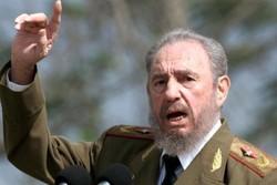 قائم مقام دبیر کل موتلفه اسلامی دفتر یادبود «کاسترو» را امضا کرد