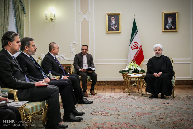 Iran, Turkey should provide a 'pivot of stability in ME'