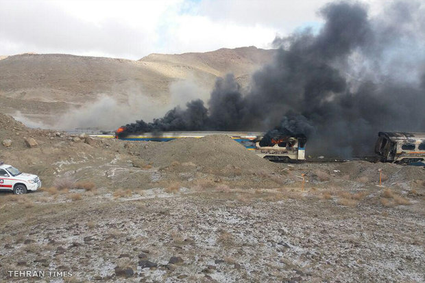 44 dead, 100 injured as trains collide in Semnan
