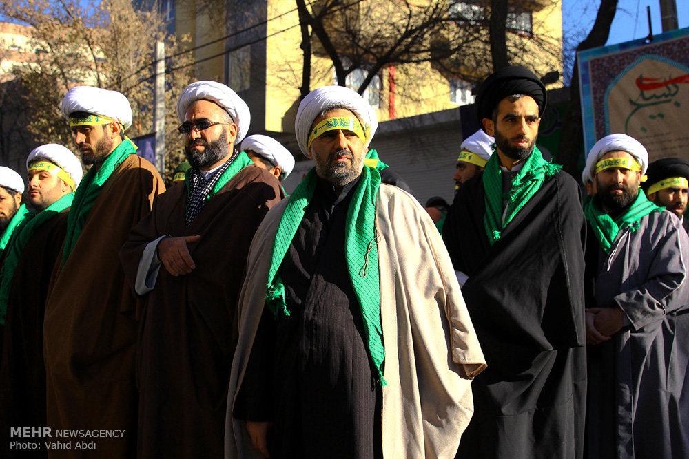 تجمع بسیجیان استان آذربایجان شرقی