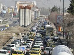 راهبندان خیابانهای کرمانشاه/کلانشهری که روزنهای برای تنفس ندارد