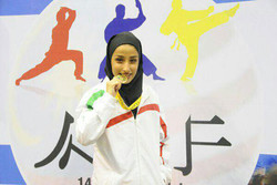 Female karateka clinches gold at AKF C'ships