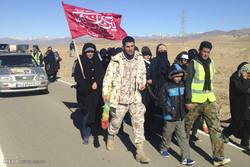 تعامل پلیس و مردم در تامین امنیت راهپیمایی اربعین