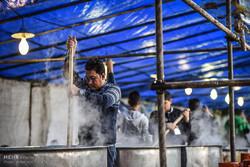 پخت آش ۸۰ تنی شیراز نشان از عشق به اهلبیت(ع) است