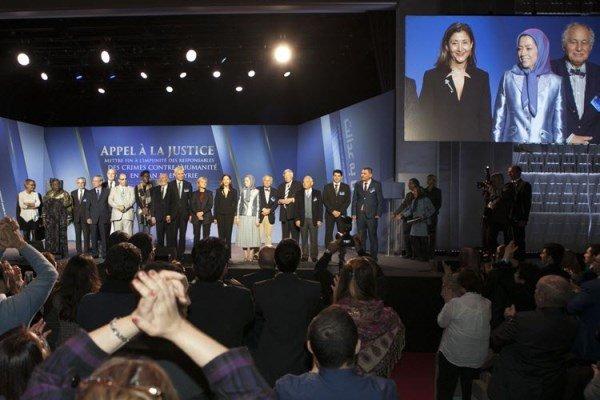 پاریس باز هم میزبان نشست منافقین شد