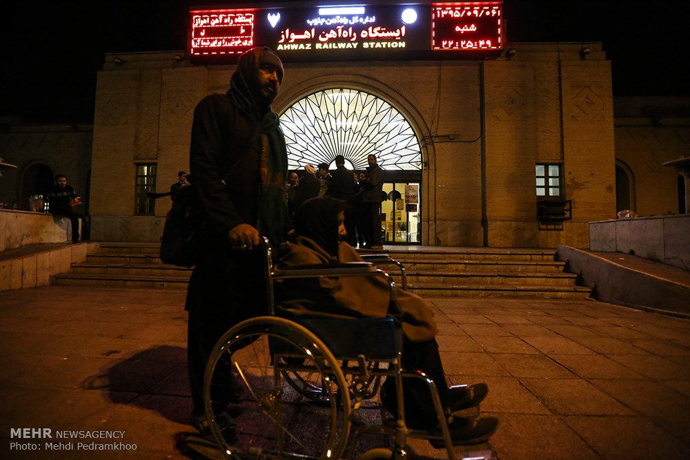 اهوازی ها میزبان زائرین اربعین حسینی (ع)
