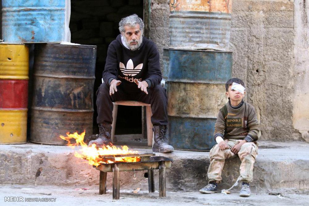 گرسنگی و ویرانی در حلب