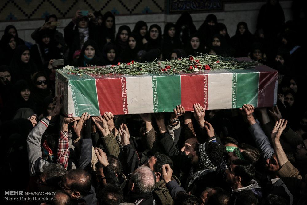 پیکر ۴ شهید گمنام وارد یزد شد/ برگزاری مراسم وداع در حظیره