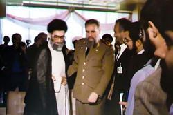 Ayatollah Seyyed Ali Khamenei, Fidel Castro