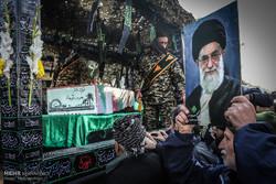 تشییع شهدای گمنام در تهران