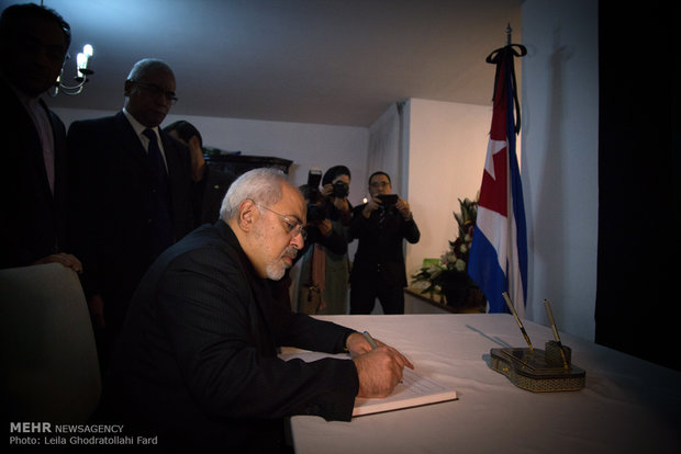 Memorian book opens for Castro in Tehran