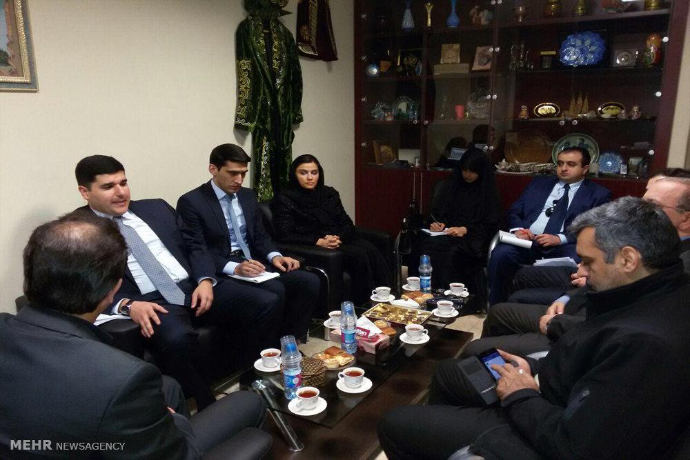 نشست اصول و امکانات همکاری بین ایران و جمهوری آذربایجان