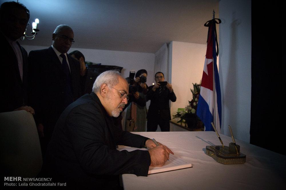 گشایش دفتر یادبود فیدل کاسترو در تهران