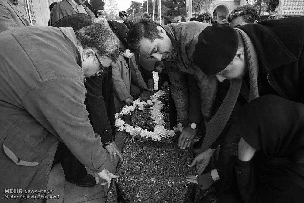 مراسم تشییع پیکر روان شاد «علی یزدانی»