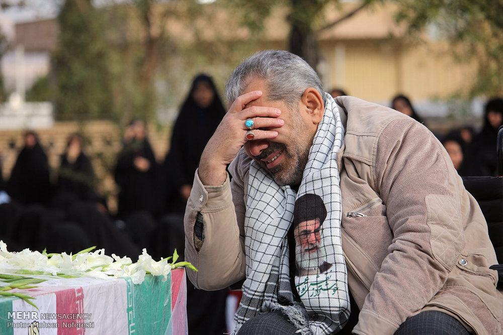 تشییع شهدای گمنام در بیرجند