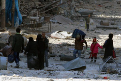 Over 5,600 civilians leave besieged areas of Syria's Aleppo