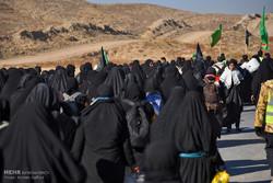 مشياً على الأقدام نحو مرقد الإمام الرضا (ع) في ذكرى شهادته /صور