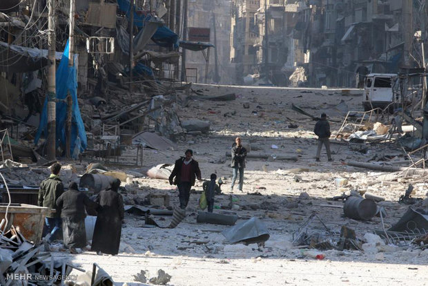 Roughly 18K people evacuated from militant-held areas of Aleppo