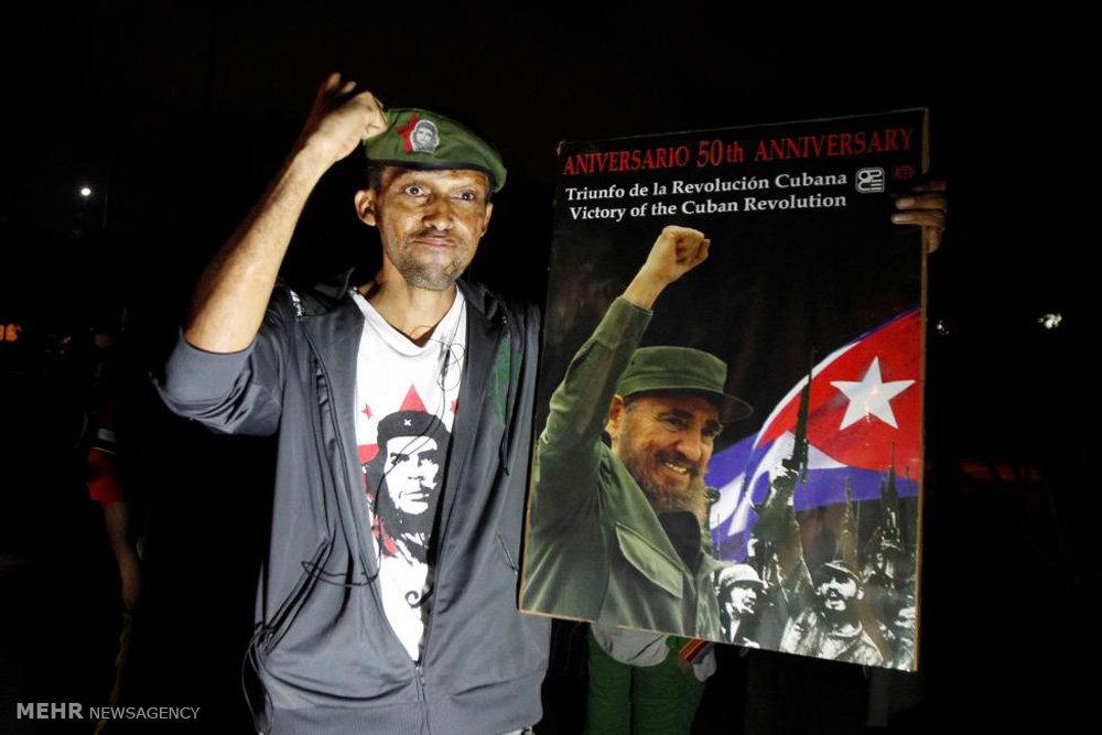 سوگواری برای فیدل کاسترو