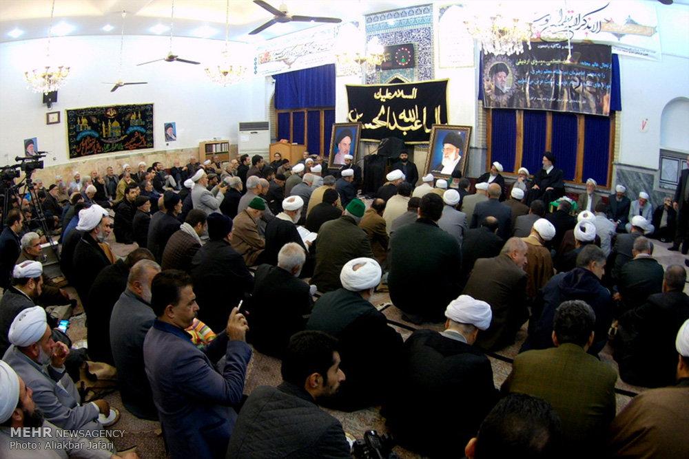مراسم هفتمین شب رحلت آیت الله العظمی موسوی اردبیلی در گرگان